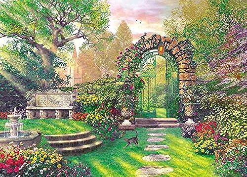500-piece jigsaw puzzle Dominique Davison Morning patio (38x53cm)
