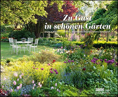 Zu Gast in schönen Gärten 2021 – DUMONT Garten-Kalender – Querformat 52 x 42,5 cm – Spiralbindung