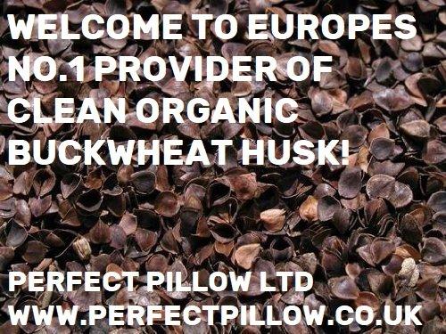 -Cáscara de trigo sarraceno orgánico, seguro para llenar...