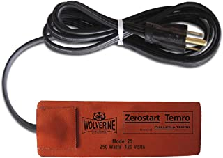 Zerostart 3400100 120V Silicone Pad Engine Oil, Transmission, Reservoir and Hydraulic Fluid Heater, 2¾
