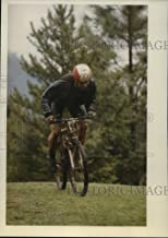 Historic Images - 1993 Press Photo Eric Thompson Pumps his Way Through an Open Section - spa33454