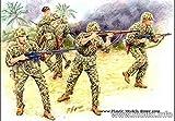 Masterbox Bloody Atoll US Marine Corps Infantry Tarawa, November 1943 1/35 Master Box 3543
