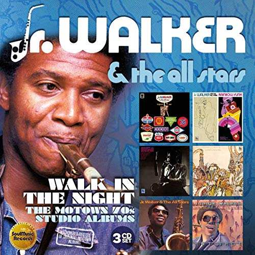 Walk In The Night: The Motown 70s Studio Albums