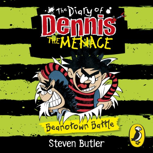 The Diary of Dennis the Menace: Beanotown Battle (Book 2)                   By:                                                                                                                                 Steven Butler                               Narrated by:                                                                                                                                 Steven Butler                      Length: 1 hr and 1 min     Not rated yet     Overall 0.0