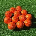 SkyLife Golf Practice Balls, Soft Golf Foam Balls for Indoor Outdoor Backyard Training (Orange 12pcs)