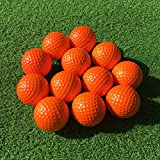 SkyLife Golf Practice Balls, Soft Golf Foam Balls for Indoor Outdoor Backyard Training (Orange 12pcs)
