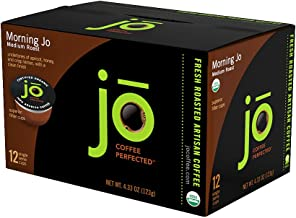 MORNING JO: 72 Cup Organic Breakfast Blend Single Serve Coffee for Keurig K-Cup Brewers Keurig 1.0 & 2.0 Compatible Eco-Friendly Cup, Light/Medium Roast Non-GMO Gluten Free Gourmet Coffee by Jo Coffee