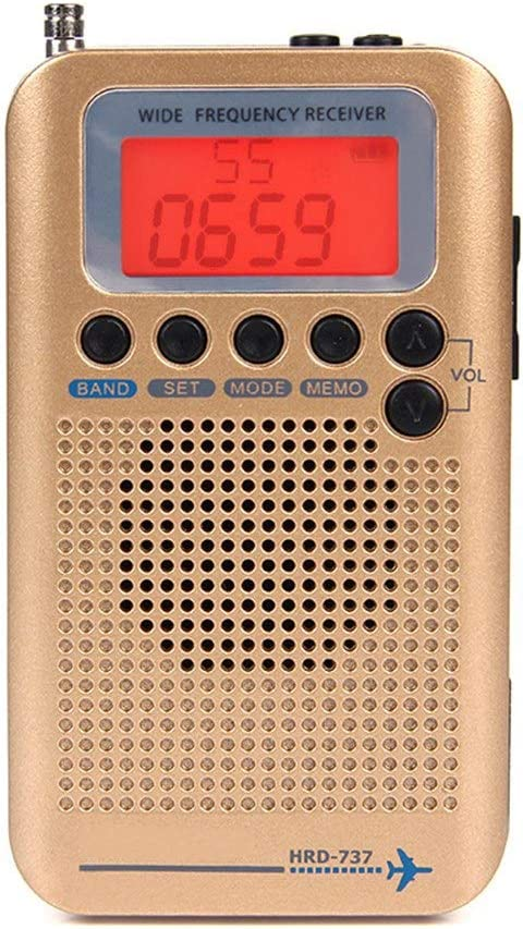 Lsmaa Max Austin Mall 86% OFF Portable Radio,with LCD Display Clock 700 Built-in Alarm