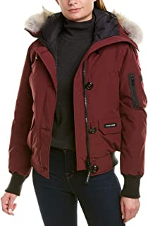 Canada Goose Womens Chilliwack Bomber Jacket, S, Red