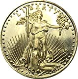 Exquisite Collection of Commemorative Coins United States 25 Dollar America Eagle Bullion Coin 1995 Brass Metal Commemorative Gold Coin Copy Coin It's Handmade Crafts Best Product