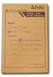 CONSUMIBLE PAPEL PARA impresora Ciaat CTP-3010//Starblitz SDK-3001 15x30cm 6x12