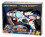 Globo- Pistola Spaziale B/O L/S Try-Me 2Col, Multicolore, 36640