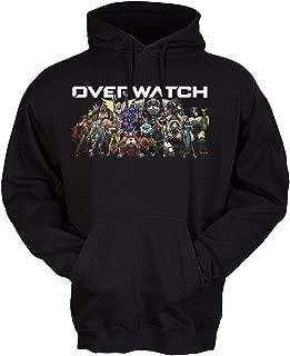 Overwatch Team and Logo Premium Pullover Fleece Hoodie