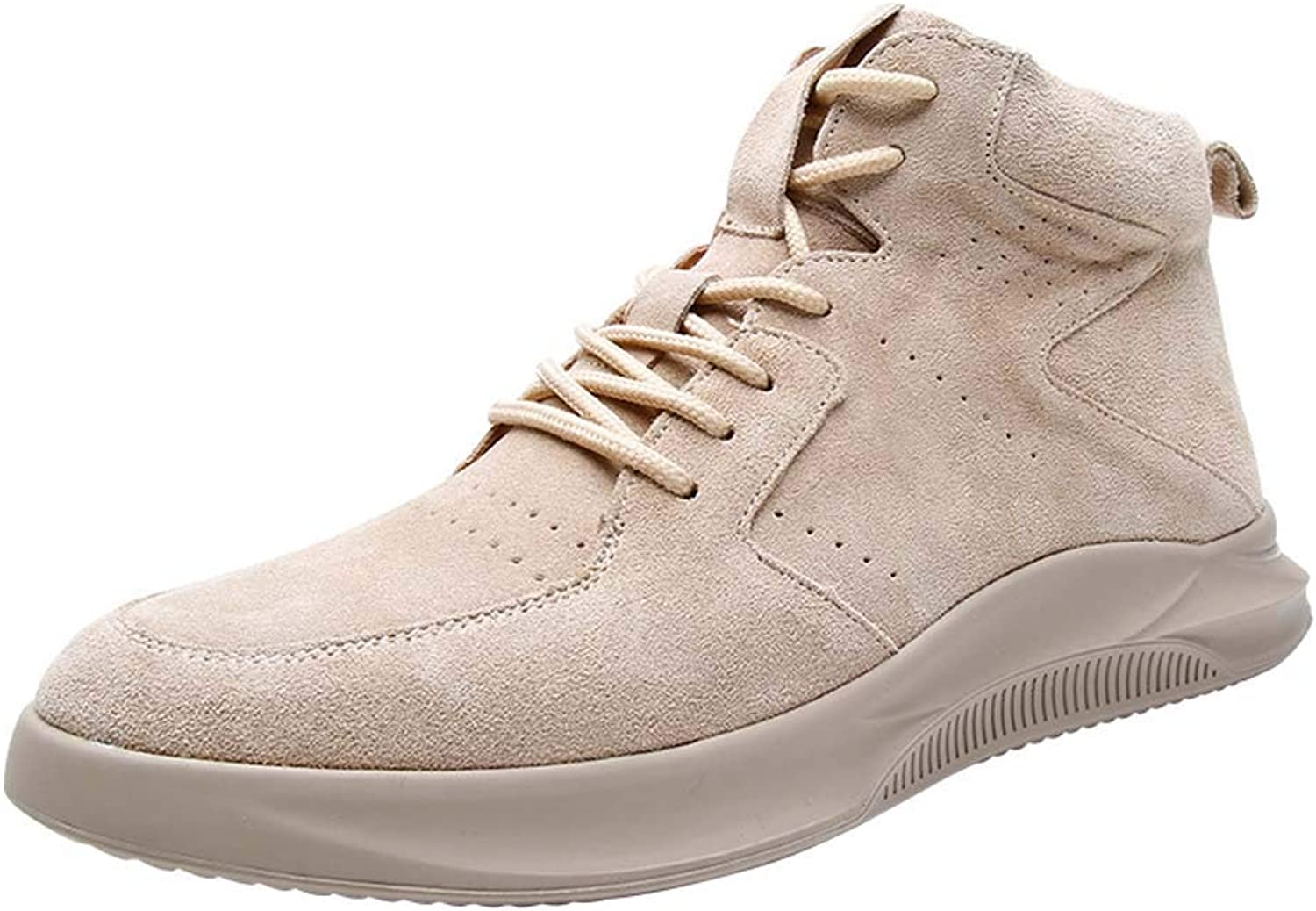 CFPPX Men's Casual shoes Boots with Fashion Men's high shoes