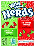 Wonka Nerds Wild Cherry and Watermelon Box 46.7g
