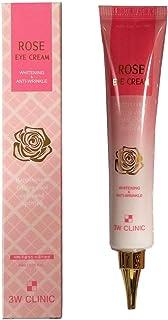 [3W CLINIC] ローズアイクリーム40ml X 1EA / Rose Eye Cream 40ml X 1EA / ローズエキス/モイスチャー、ホワイトニング/rose extract/Moist, Whitening/韓国化粧品 / Korea Cosmetics [並行輸入品]