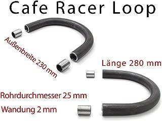 Cafe Racer Loop /Ø25x2 Breite 200mm L/änge 500mm Heckrahmen Hoop Boucle