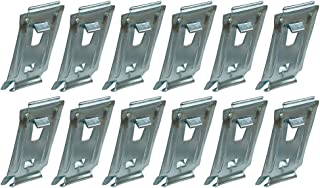 Rocker Panel Molding Clips Set of 12 For 1962-65 Ford Falcon, Fairlane, Mercury Comet (C2YY-6210182SET)