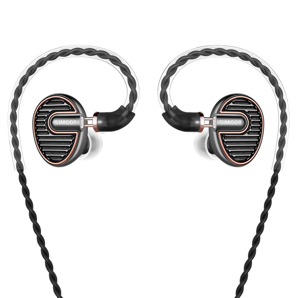 SIMGOT Headphones Detachable Professional Noise Isolating