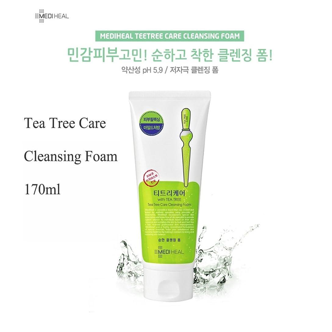 ゴム電球盗賊MEDIHEAL Tea Tree Foam Cleansing 170ml/メディヒール ティー ツリー フォーム クレンジング 170ml