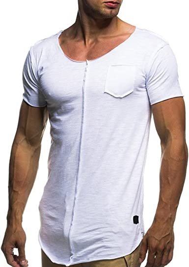 FAMILIZO Camisetas Manga Corta Hombre Moda Camisetas Hombre Tallas Grandes Camisetas Hombre Sport Camisetas Hombre Algodón Camisetas Hombre Verano ...