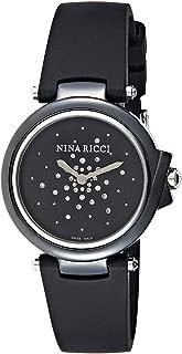 Nina Ricci Women's Grey Dial Rubber Band Watch - N068002SM