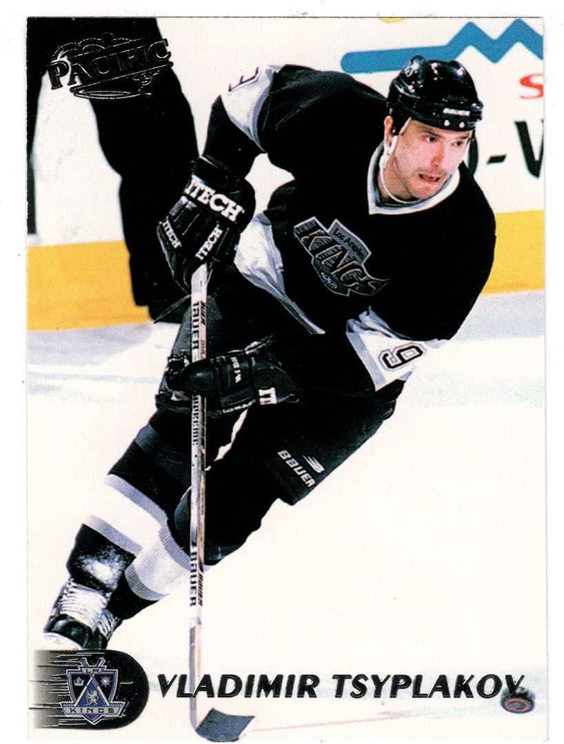 Max 48% OFF Vladimir Tsyplakov Free shipping anywhere in the nation - Los Angeles Kings Hockey Pac 1998-99 Card