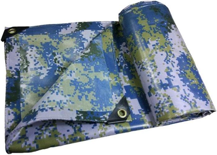 MuMa Bache PVC Marine Camouflage Imperméable épaissir Imperméable Camion Pouvez Personnaliser (Taille   4  8m)