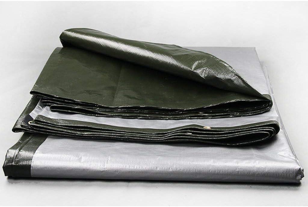 YUMUO Bâche imperméable à l'eau Bâche étanche Camion bâche Bâche Parapluie en Plastique Bâche Bâche Bâche épaisse (Taille: 5x7m) 19