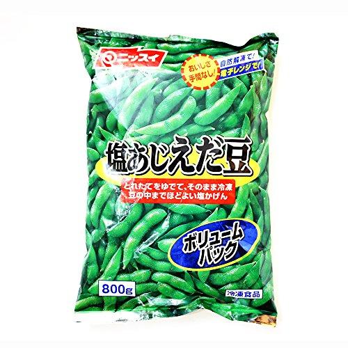 ニッスイ 塩あじ枝豆 タイ産 800g