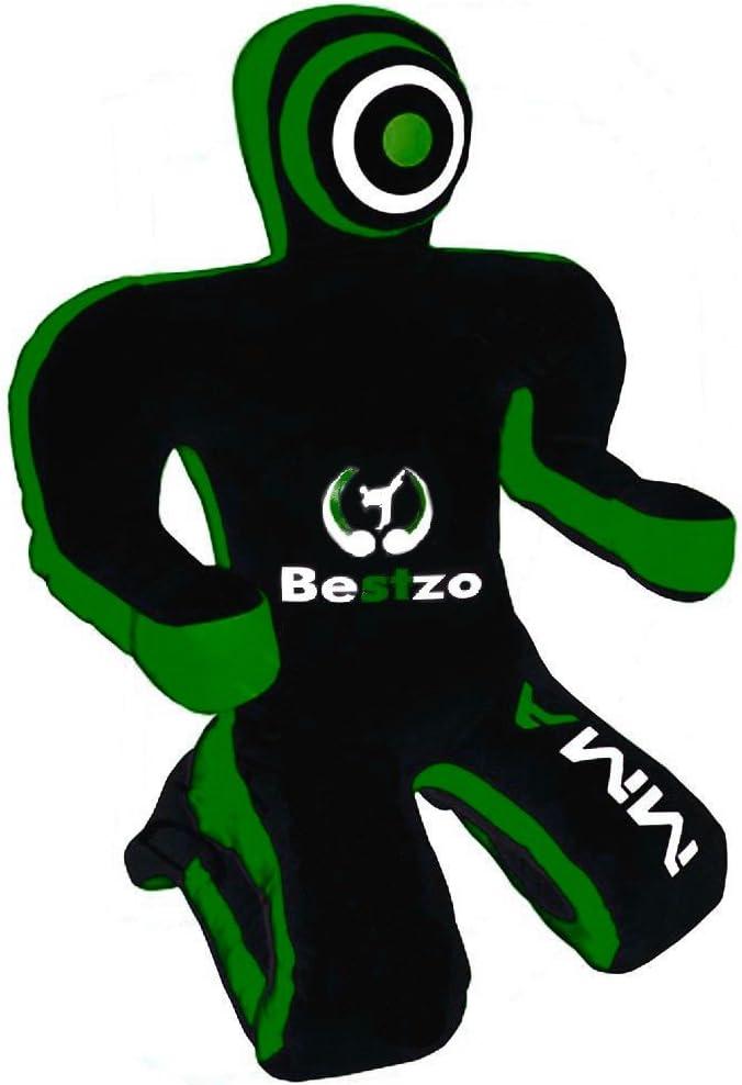 Bestzo MMA Jiu Jitsu Judo Punching Grappling Green Bla Bag Dummy Seasonal Ranking TOP15 Wrap Introduction