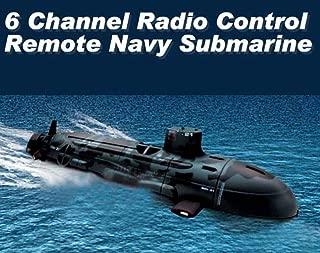 6 Channel Radio Control Remote Navy Submarine Radio Control Boat