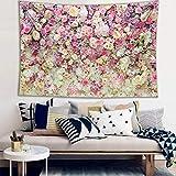 WERT Varias Hermosas Flores Rosas Girasol Tulipanes Boda romántica decoración de Interiores Tapiz Tela de Fondo A3 180x200cm