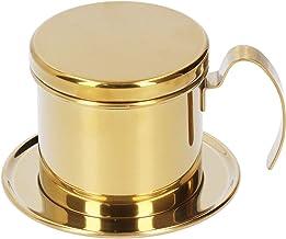 Drip Koffie Infuser Koffie Accessoire Koffie Pot Druppel Koffiezetapparaat Huishoudelijke Kantoor Koffie voor Keuken (Gouden)