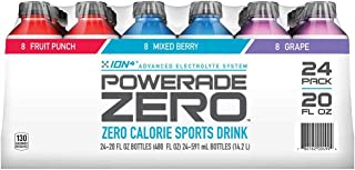 Product of Powerade Zero Calorie Sports Drink, 24 ct./20 oz. [Biz Discount]