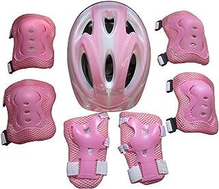 15000P pequeño equipo de protección para niños Set con casco de protección Rodilleras Coderas muñeca Protección para patines en línea Skateboarding