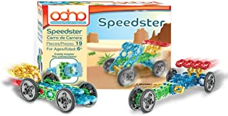 OCHO Toys, Speeder Kit, 3-in-1 Incredibly Interconnectable Educational Construction Building Toy Set