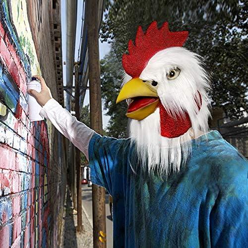 Chicken head costume _image4