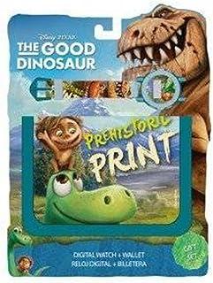 Kids Euroswan - Disney WD16825 Set Billetera +Reloj Digital The Good Dinosaur