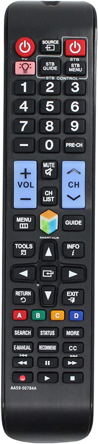 AA59-00784A Tulsa Mall Remote Control Max 73% OFF Replacement - Compatible with Samsung