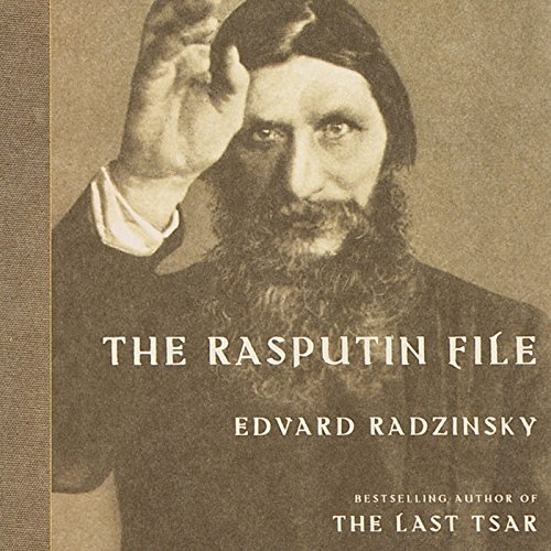 The Rasputin File audiobook cover art