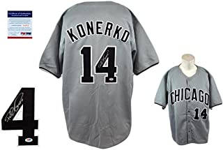 Autographed Paul Konerko Jersey - Beckett - Beckett Authentication - Autographed MLB Jerseys