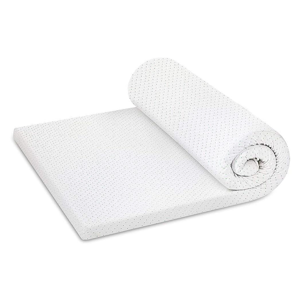 梨意外現在ASHATA 高反発マットレス やや硬め 思わず寝てしまう 睡眠改善 厚み5CM シングル 195×97×5 三つ折り畳み 抗菌 防臭 洗える ホワイト
