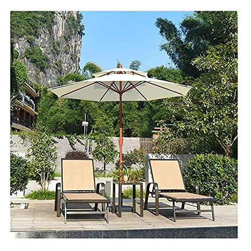YRCWZF Sombrilla de Mesa Al Aire Libre, Protección UV Sombrilla de Mercado de Tela de Poliéster Que no Se Decolora, para Patio Jardín Playa Piscina,Umbrella