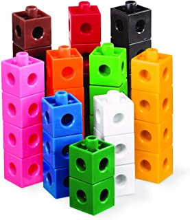 hand2mind Linking Pop Cubes, Educational Counting Math Toy (Set of 1000)