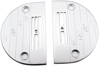 KUNPENG - 2PCS #B1109-552-000 Needle Plate FIT for Juki Industrial Single Needle Sewing Machine (E18)
