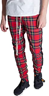 Best red plaid track pants mens Reviews