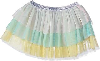 Giggles Color Block Tutu Layered Skirt for Girls