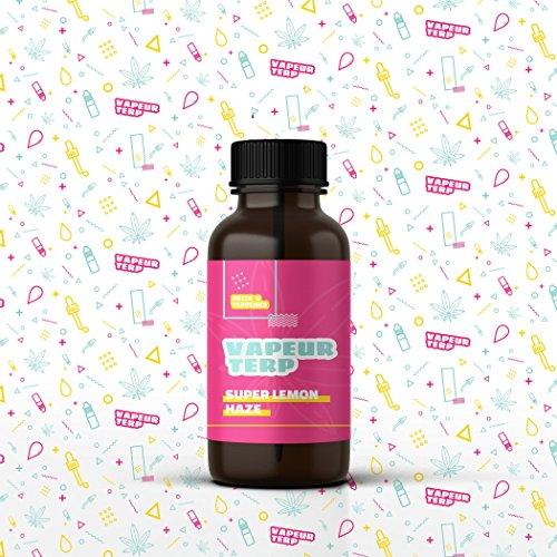 Delta 9 Terpenes - Super Lemon | 100% Pure Organic | Strain Specific (4mL)
