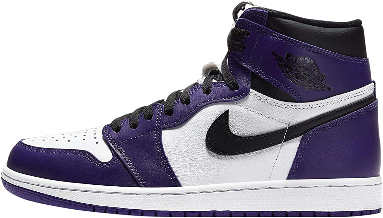 AIR JORDAN 1 High Og 'Court Purple' - 555088-500 - Size 8.5